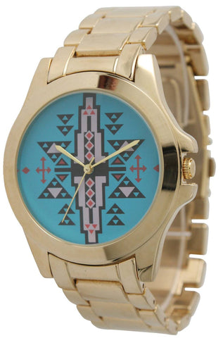 Boyfriend Aztec Watch