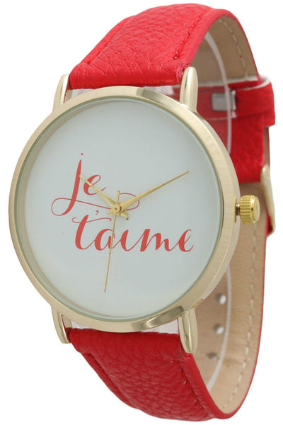 """Je t'aime"" Watch"