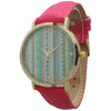Pastel Tribal Leather Watch