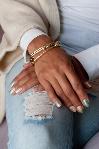 Bangle Set With Bows