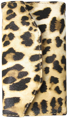 Crocodile Print Iphone 4 or 5 Wallet/Wristlet - Cheetah Print!