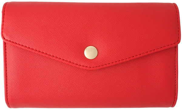 Crossbody Envelope Style Multi Functional iPhone 4, 4s, 5 and Smartphone Convertible Purse/Clutch