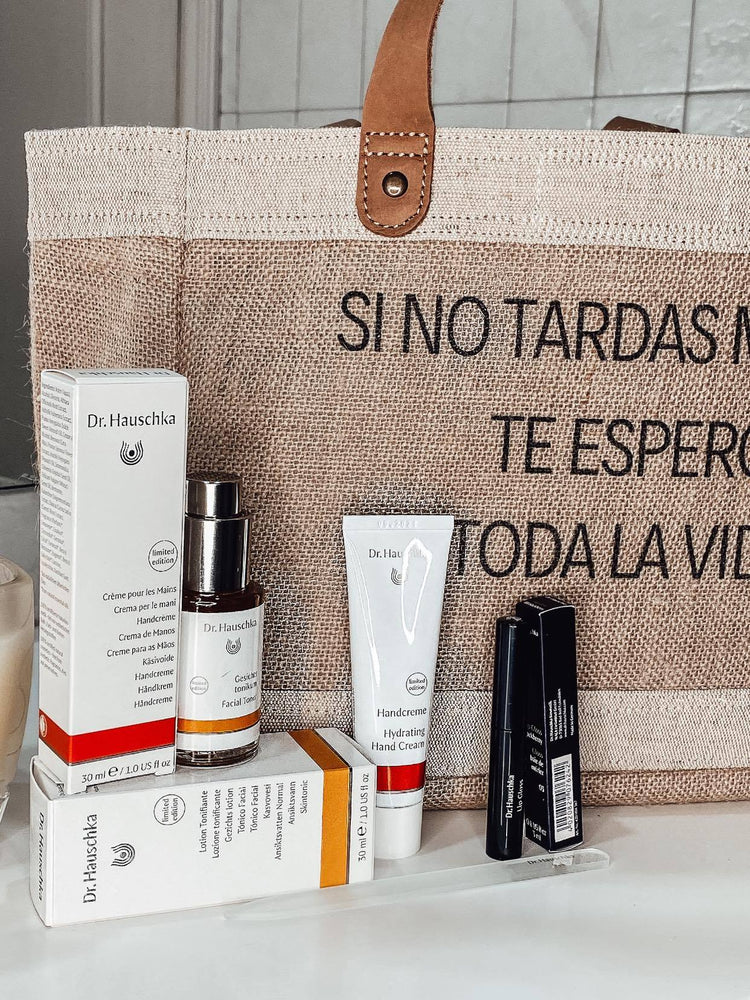 PACK BOLSO + COSMÉTICA NATURAL DR. HAUSCHKA