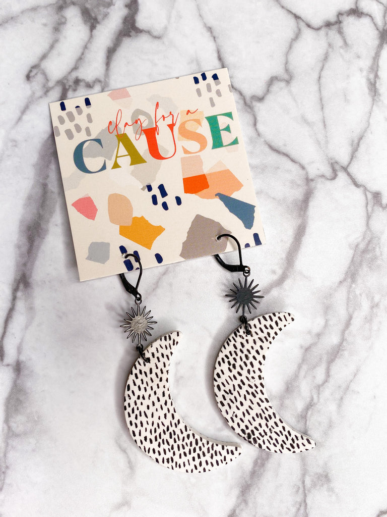 Clay For A Cause Luna Earring