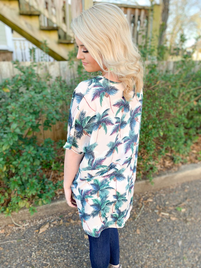 PLC Codi Top: Palms Away