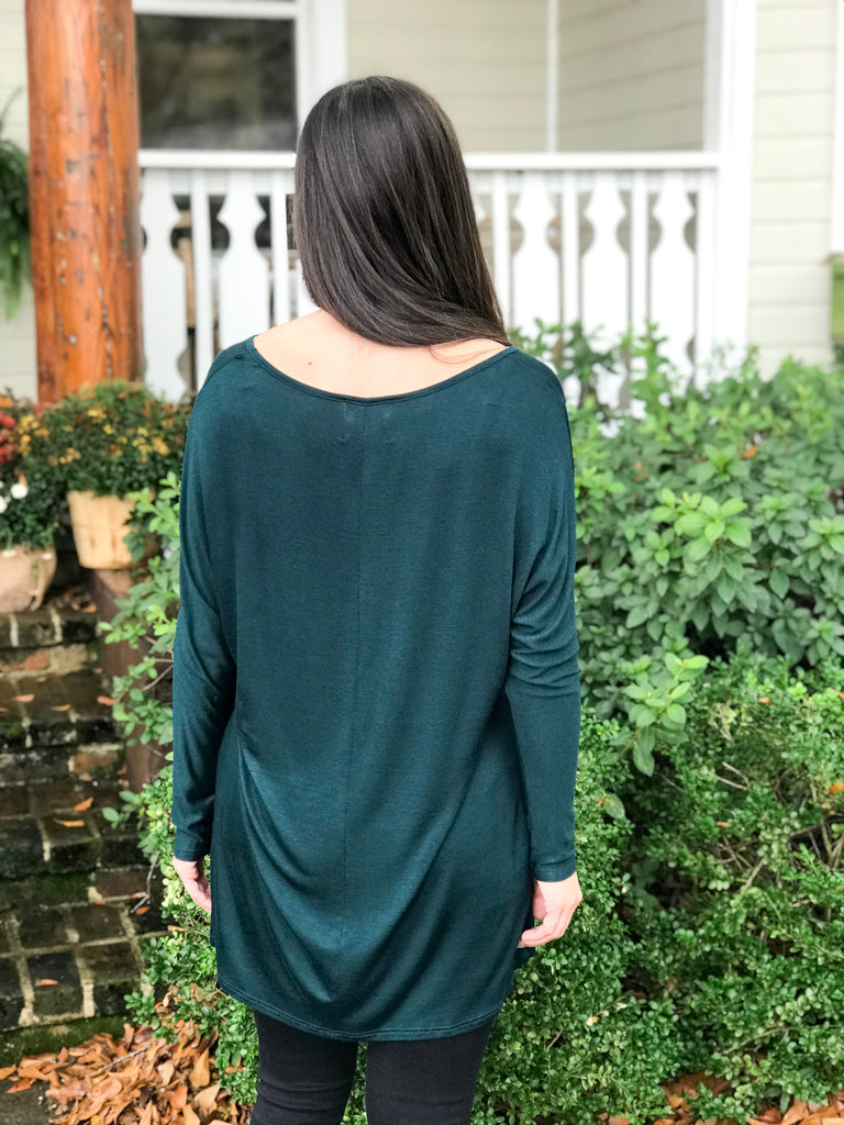 PLC Blake Tunic: Hunter Green