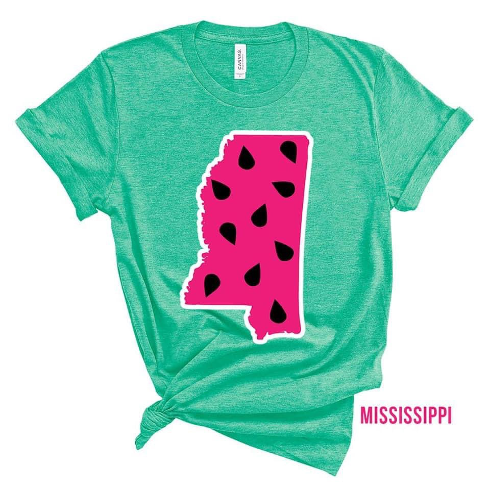 State Watermelon Tee