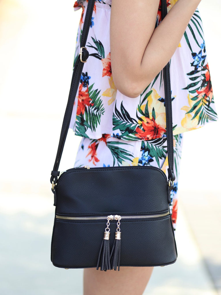 Moore Crossbody: Black