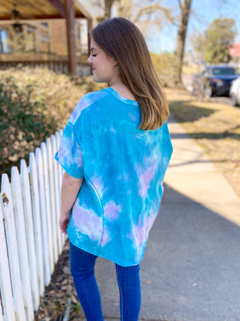 Day Dream Tie Dye Top