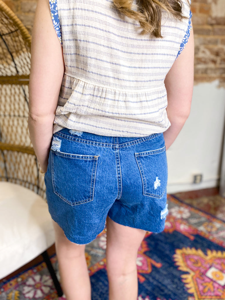 Good Vibrations Denim Shorts