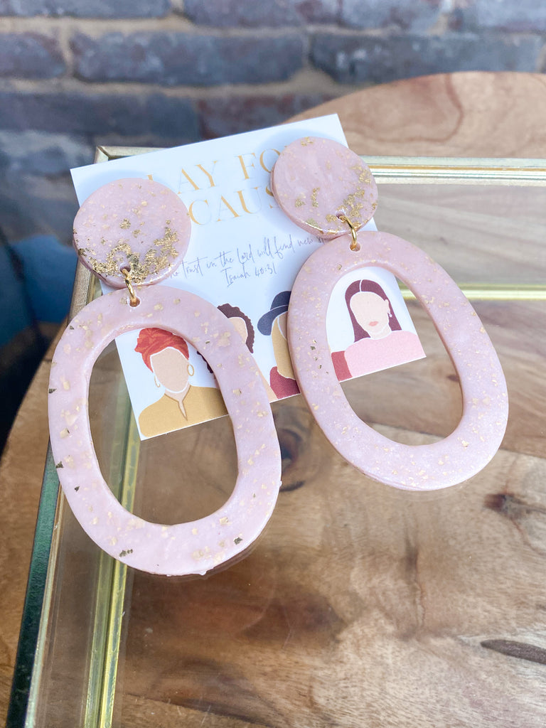 Clay For A Cause June Earring