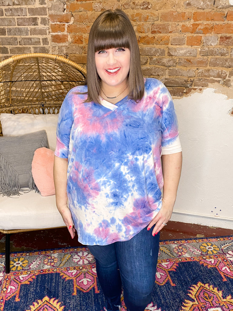 Weekend Ready Tie Dye Tunic