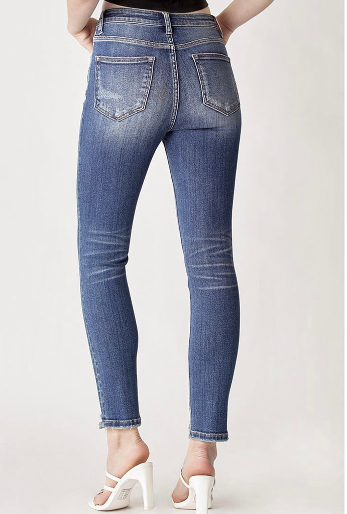 Walk This Way Ankle Skinny Jean