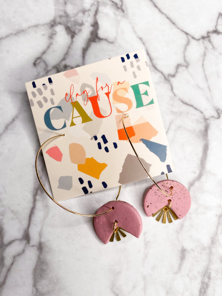 Clay For A Cause Waverly Earring