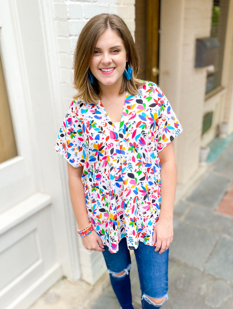 Favorite Short Sleeve Blouse