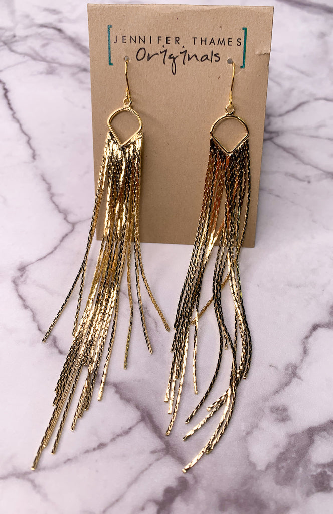 Jennifer Thames Fringe Earrings