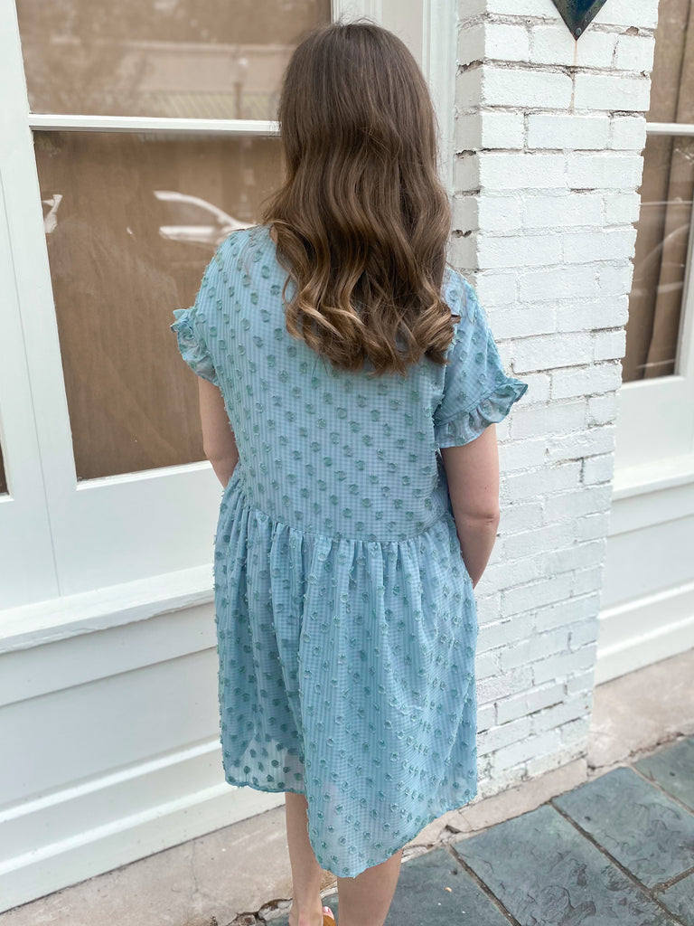 Do It My Way Dotted Dress