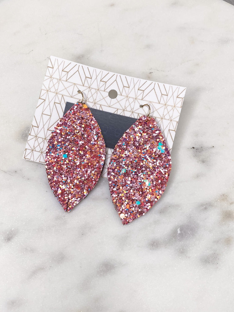 Chic'd Out Earrings: Small Glitter
