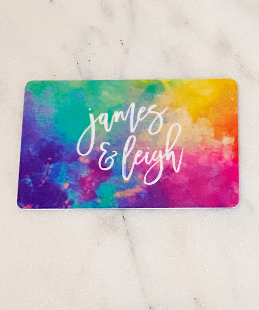 James & Leigh Gift Card