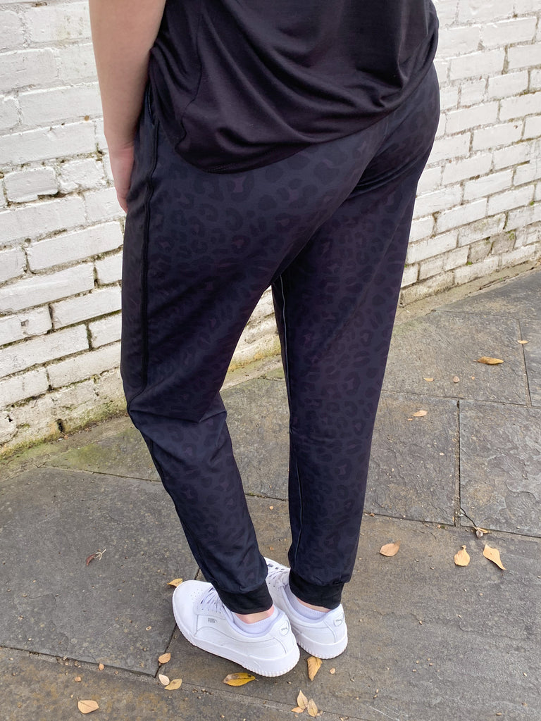 Harley Leopard Joggers