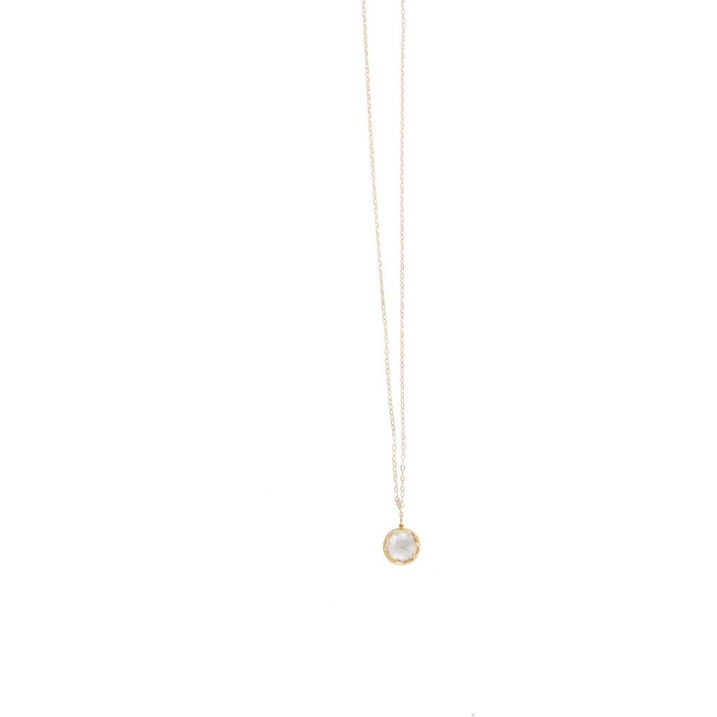 Love Poppy Long Gem Layering Necklace