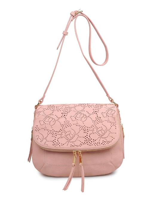 Sunday Crossbody with Lasercut Detail