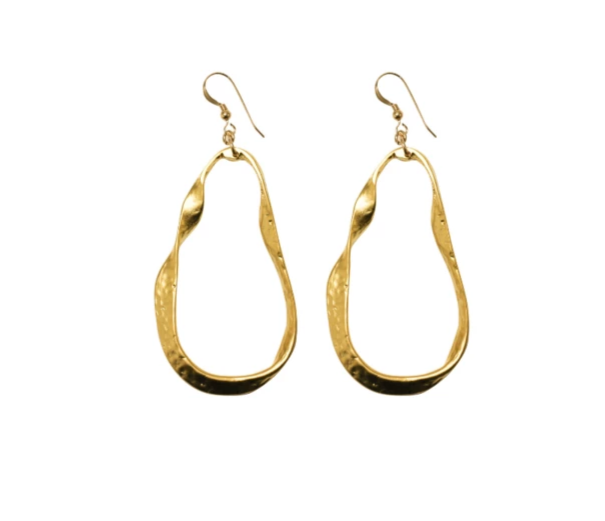 Love Poppy: Gold Twist Earring