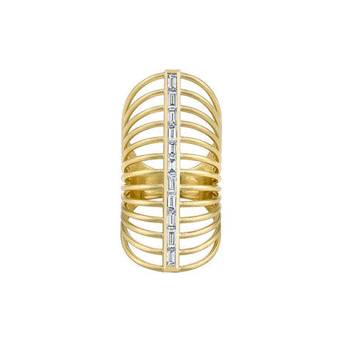 Line Rising Ring Large