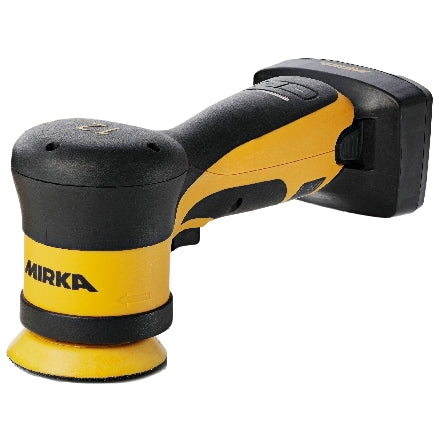 "Mirka 3"" Cordless Angled RO 12mm Polisher Kit with 5.0Ah Battery, AROP312-B"