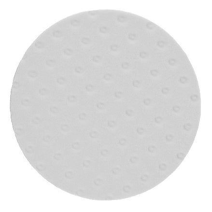 "Mirka 8"" White Foam Polishing Pad, MPADWF-8"