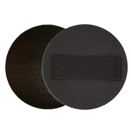 "Mirka 5"" x 0.125"" Hand Sanding Pad with Strap for Grip Discs, 2-Pack, 105HPGG8"