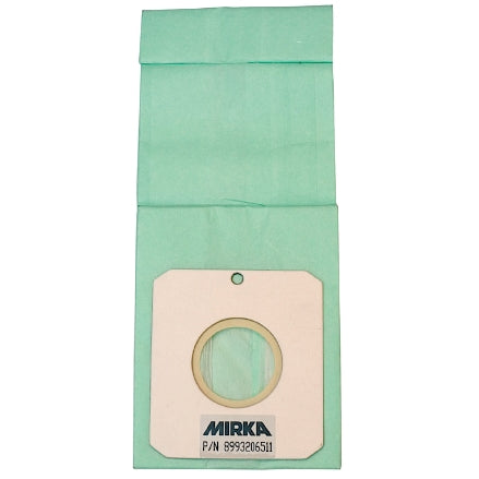 Mirka Paper Dust Bag Inserts for ROS Sanders, 10-Pack, MPA0465