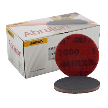 "Mirka Abralon 3"" Foam Finishing Discs"