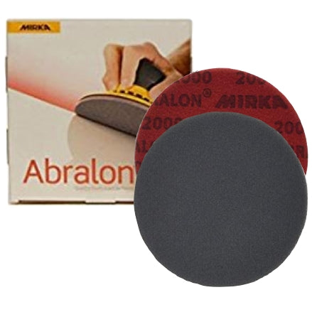 "Mirka Abralon 6"" Foam Finishing Discs"