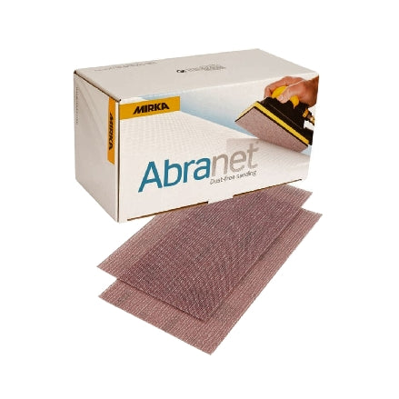 "Mirka Abranet 2.75"" x 5"" Grip Sanding Board Sheets, 9A-149 Series"
