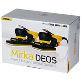 "Mirka 3.2"" x 5.2"" DEOS 353CV 3.0mm Electric Orbital Vacuum Ready Sander"