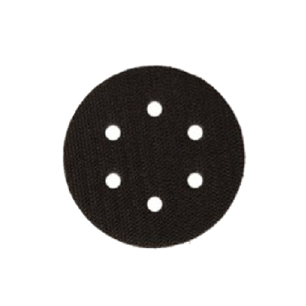 "Mirka 3"" x 0.375"" 6-Hole Interface Pad, #9133"