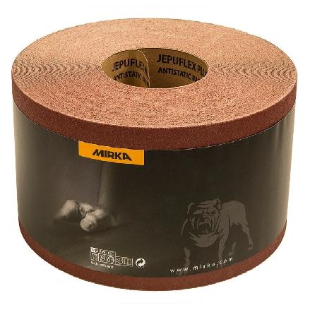 "Mirka Jepuflex Antistatic 6"" x 75' Grip Sanding Drum Rolls, 44-625 Series"