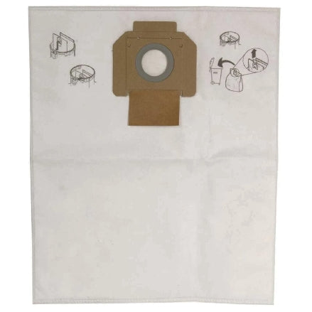 Mirka MV-912 Vacuum Extractor Dust Bags, 5-Pack, MV-912DB