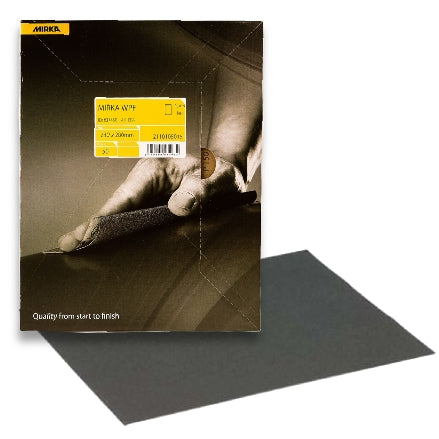Mirka WPF Waterproof Sanding Sheets, 21-104 Series
