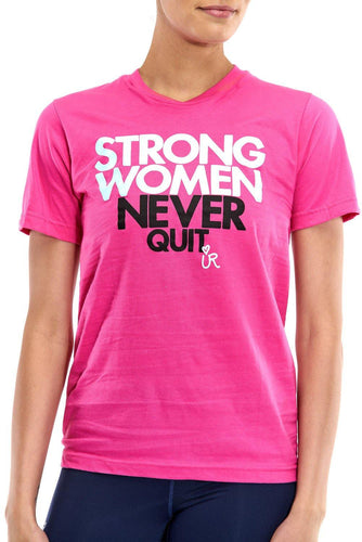 Strong Women Never Quit - UR Sportswear