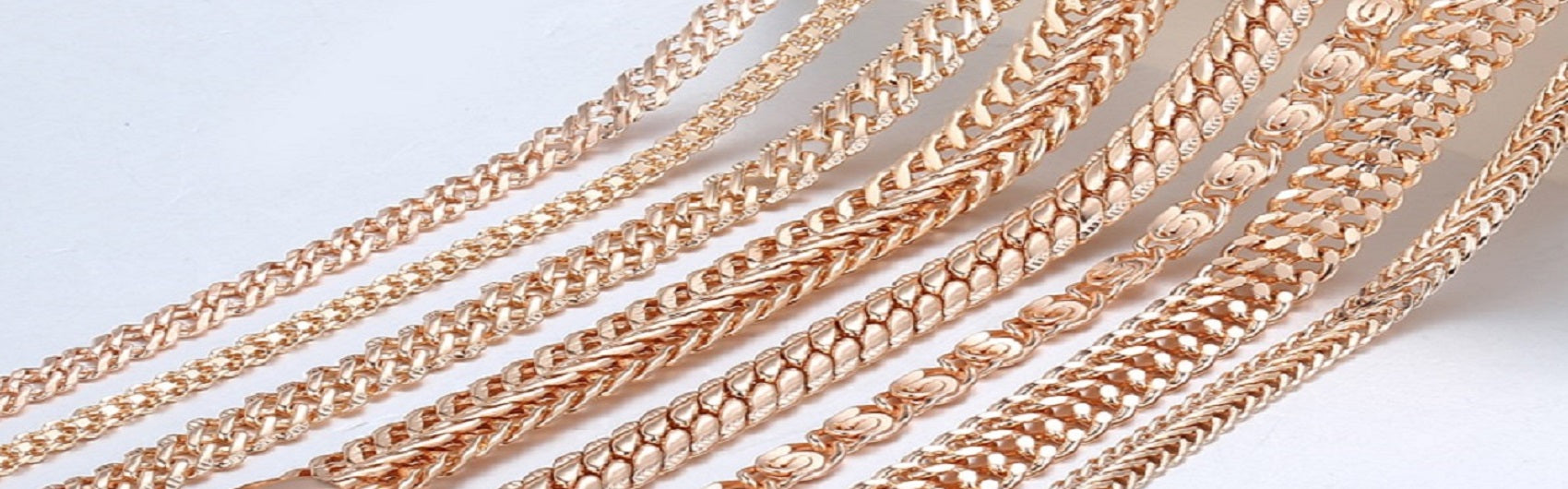 Rose Gold Plated Silver Necklaces