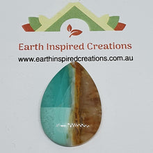 Load image into Gallery viewer, Blue Opalised Wood Cabochons