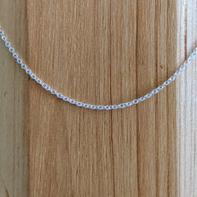 Load image into Gallery viewer, Sterling Silver Cable Chain