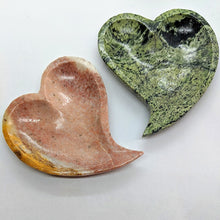 Load image into Gallery viewer, Mixed Stone Heart Dish