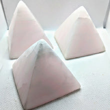 Load image into Gallery viewer, Pink Calcite Pyramids