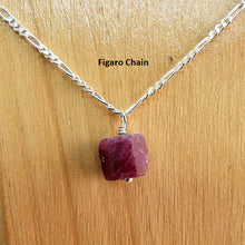 Load image into Gallery viewer, Ruby Figaro Necklace