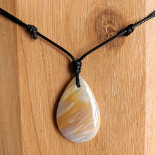 Load image into Gallery viewer, stick agate necklace