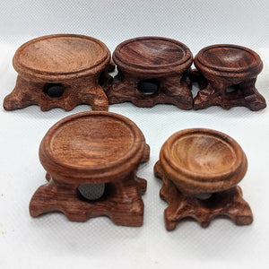 Wooden Sphere Stands