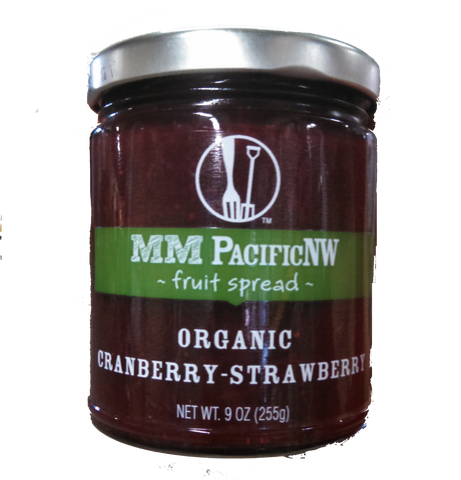 PNW Organic Cranberry-Strawberry - Fruit Spread